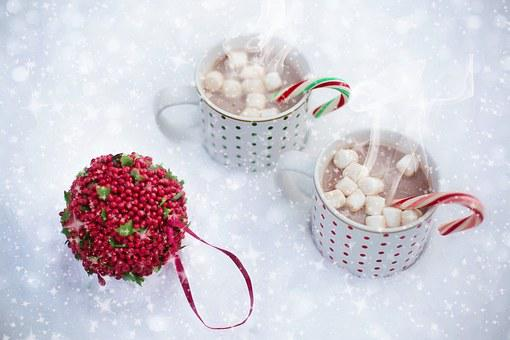 Hot Chocolate, Snow, Scarf, Christmas,124 Free images of Chocolate Day Related Images: Chocolate Love Heart  Valentine's Day  Candy  Hot Chocolate  Romantic  Romance  Valentine  Sweet