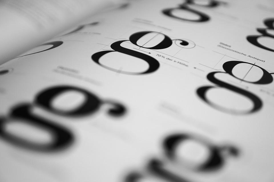 Typography Geschtaltung Fonts · Free photo on Pixabay