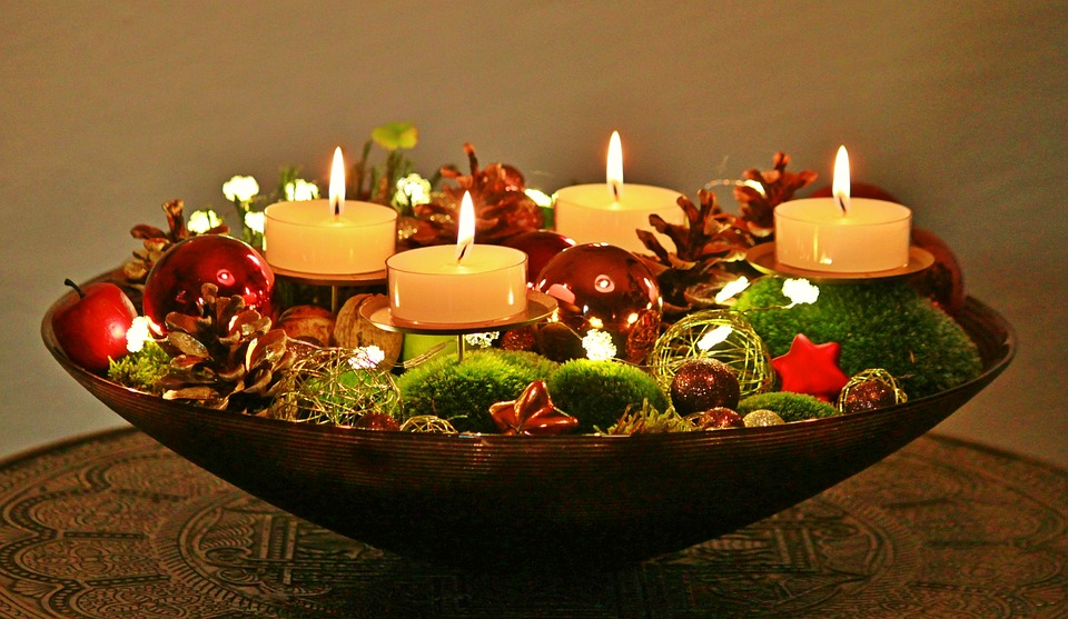 Advent Wreath, Advent, Christmas, Christmas Time
