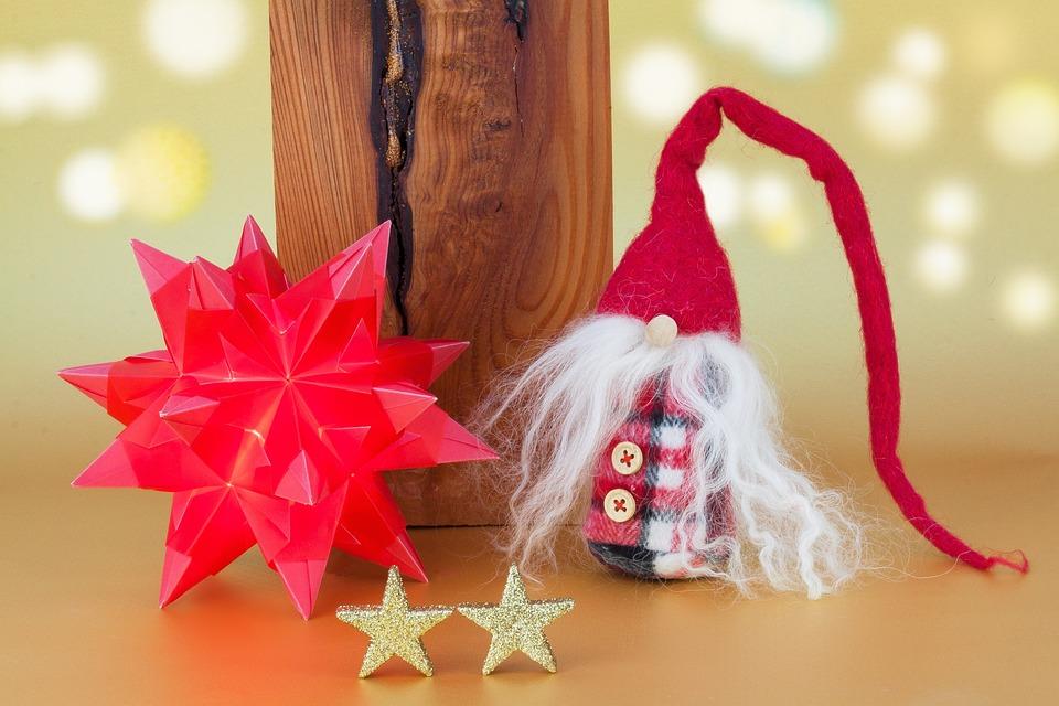 Photo gratuite no l star origami nain tissu image gratuite sur pixabay 1069976 - Arbre de noel origami ...