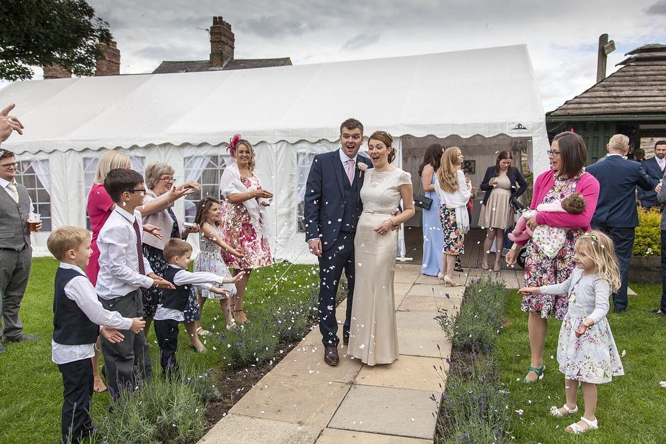 Wedding, Wedding Tent, Outdoor Wedding, Couple