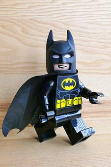 Batman, Lego, Toys, Kids, Child, Play