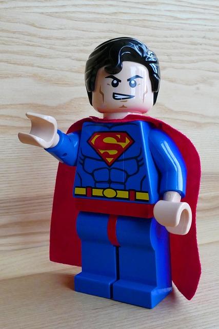 Free photo superman toy lego hero super free image on pixabay 1070470 - Image de super hero ...