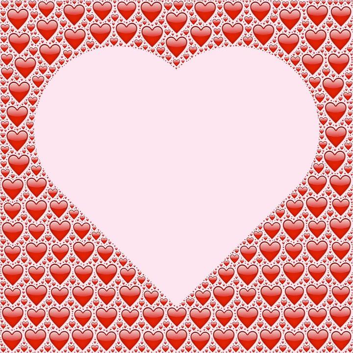 Corazón El Amor Marco De · Imagen gratis en Pixabay