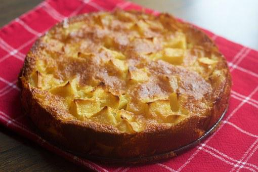 Tarta De Manzana, Hornear, Apple, Pastel