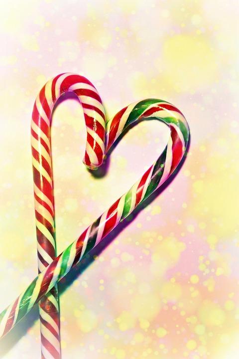 bastn de caramelo dulzura dulce de azcar navidad