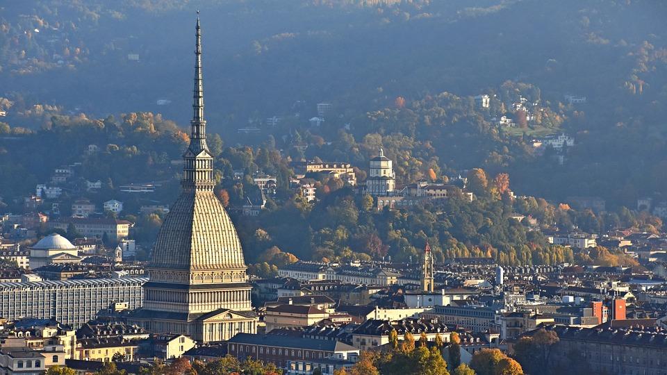 Torino, Panorama, Pallone Aerostatico, Piemonte