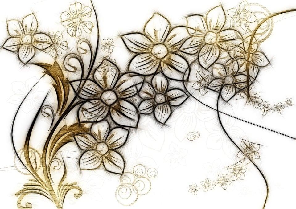 Kostenlose illustration schn rkel kringel blumen bl ten kostenloses bild auf pixabay 1073216 - Vintage bilder kostenlos ...