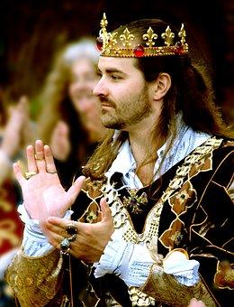 King, Medieval, Celebration, Man
