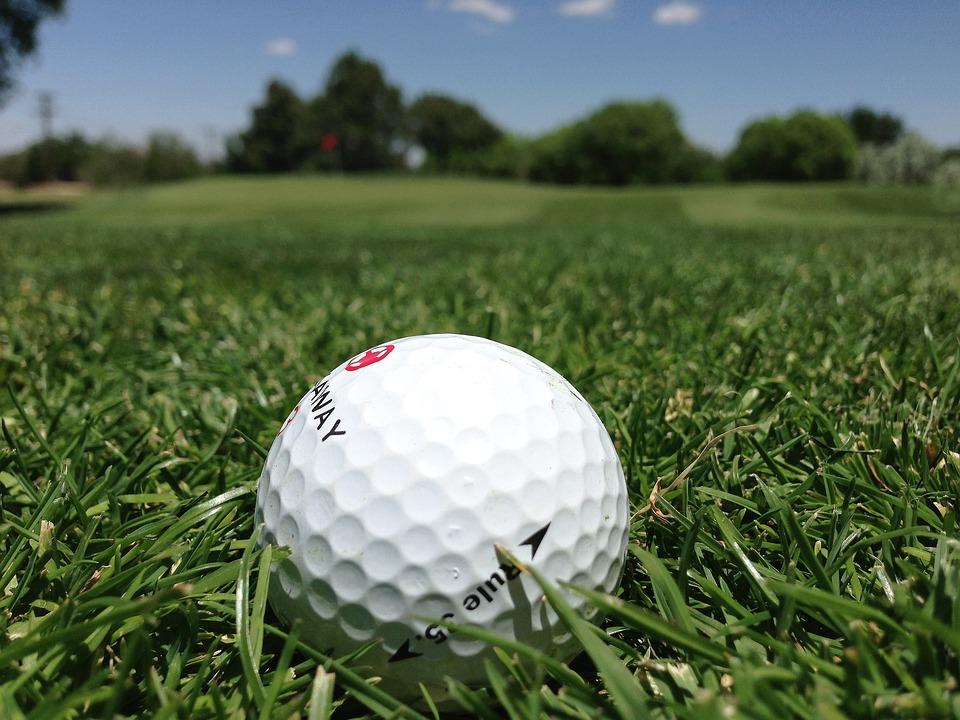 free photo golf golf ball grass golf course free image on pixabay 1073465. Black Bedroom Furniture Sets. Home Design Ideas