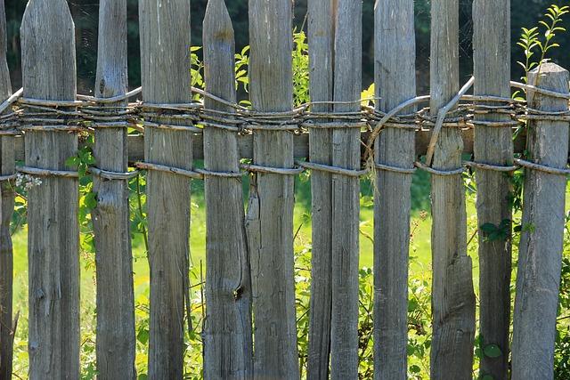 Kostenloses foto zaun holzzaun holz begrenzung - Jardin de bambu talavera ...