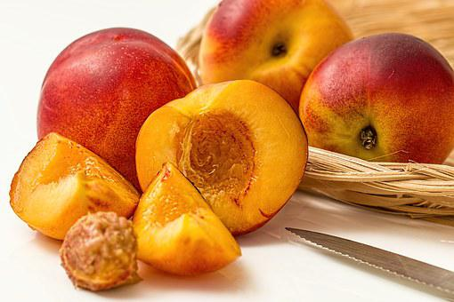 Nectarine Peach Fruit Deciduous Juicy Swee