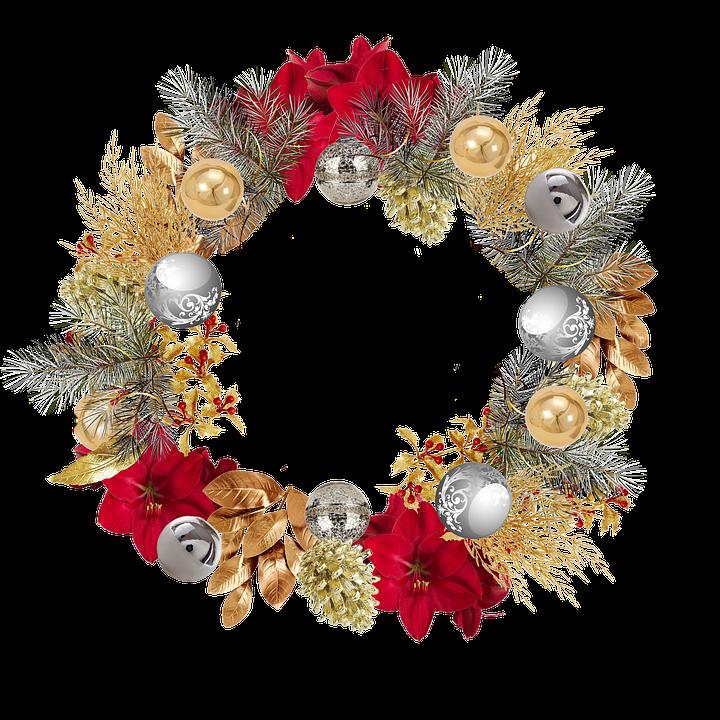 Free illustration christmas crown bowls dor free for Christmas crown decoration