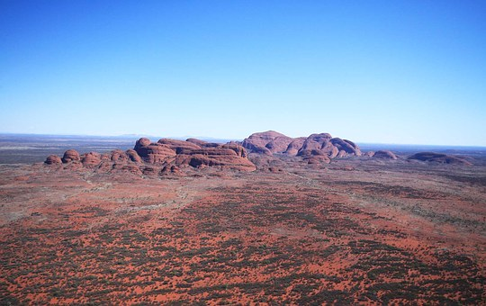 Australia's Top Ten Natural Beauty Spots for 2020, Kata Tjuta, Landscape, Outback