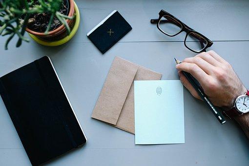 手, 男, 時計, 仕事, 人, ビジネス, 男性, 実業家, 手紙, 封筒