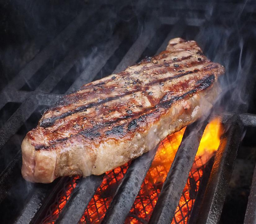 Grilling Steaks Time Chart: Free photo: Steak Beef Meat Food Grilled - Free Image on ,Chart
