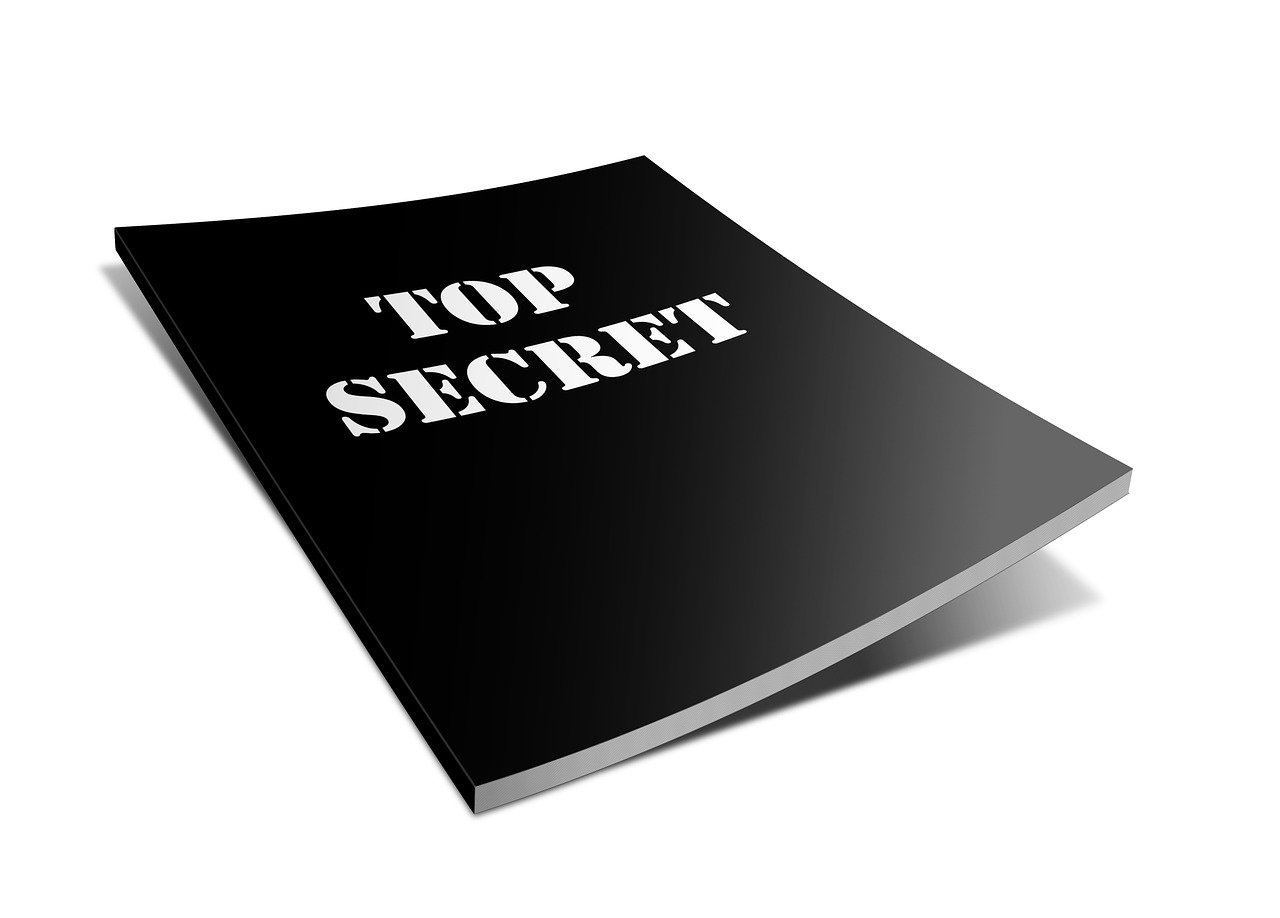 トップ シークレット, レポート, ファイル, 秘密, ページのトップへ, 機密情報, 情報, ドキュメント