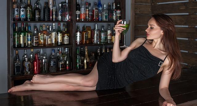 Bar Wine Girl  Free Photo On Pixabay-1162