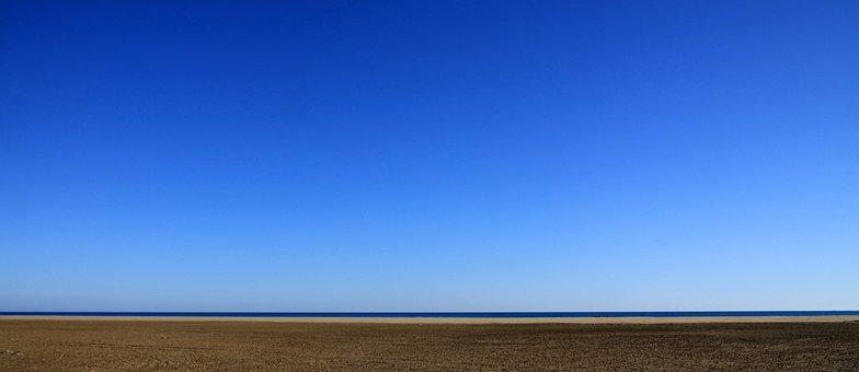 Sky Background Sand Ocean Sea Clear S