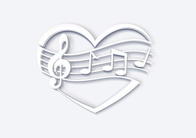liebe herz musik · kostenloses bild auf pixabay