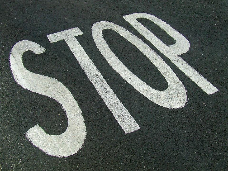 Stop, Sign, Road, Stop Sign, Warning, Danger, Street