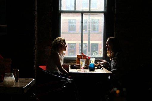 Interview Restaurant A Pair Of Girls Engla