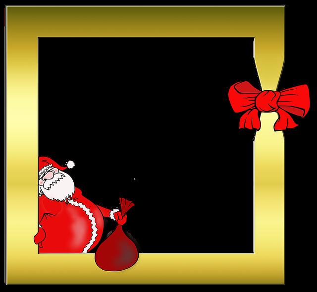 Cornice Per Foto Babbo Natale · Immagini gratis su Pixabay