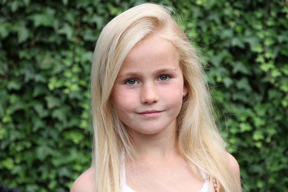 Free Photo Blonde, Girl, Smiling, Portrait - Free Image -6146