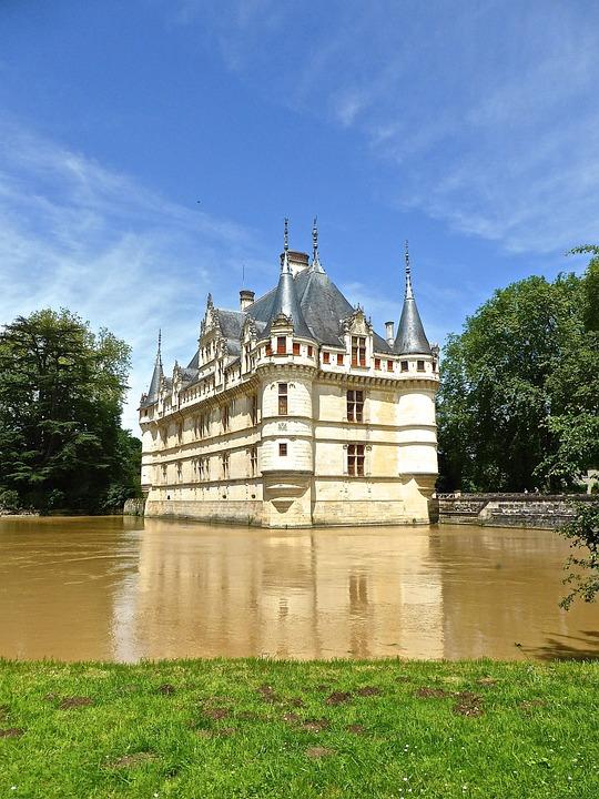 Schloss Azay Le Rideau · Kostenloses Foto auf Pixabay