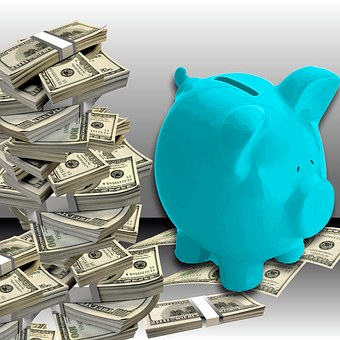 Piggy Bank, Save, Money, Economy