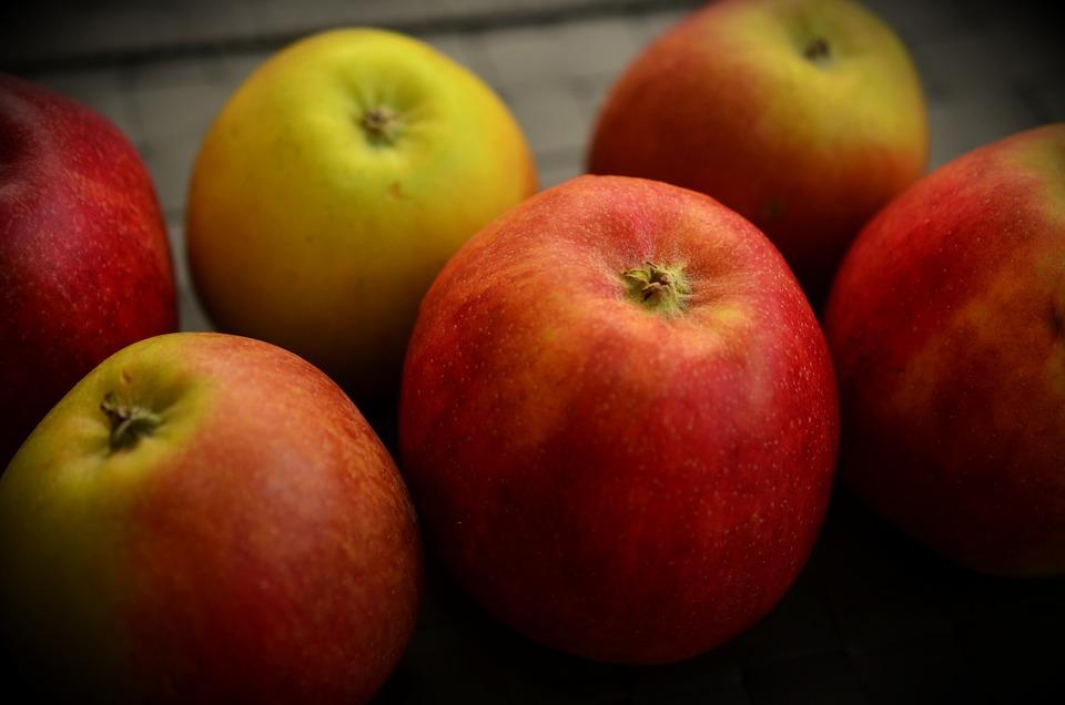 vitaminer i æbler