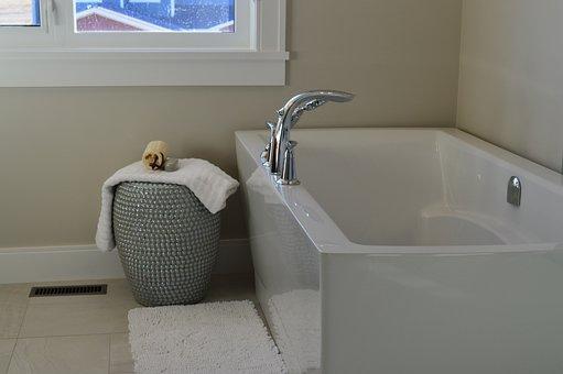 Bathtub, Tub, Bathroom, Bath, Bathing