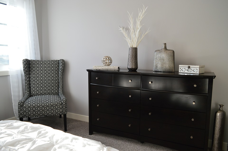 Free photo: Bedroom, Furniture, Chair, Dresser - Free Image on ...