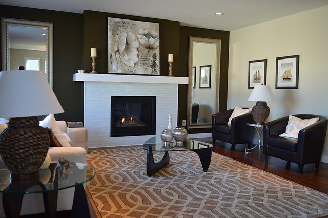 Free photo living room fireplace chairs free image on for Makeup by tiffany d living room