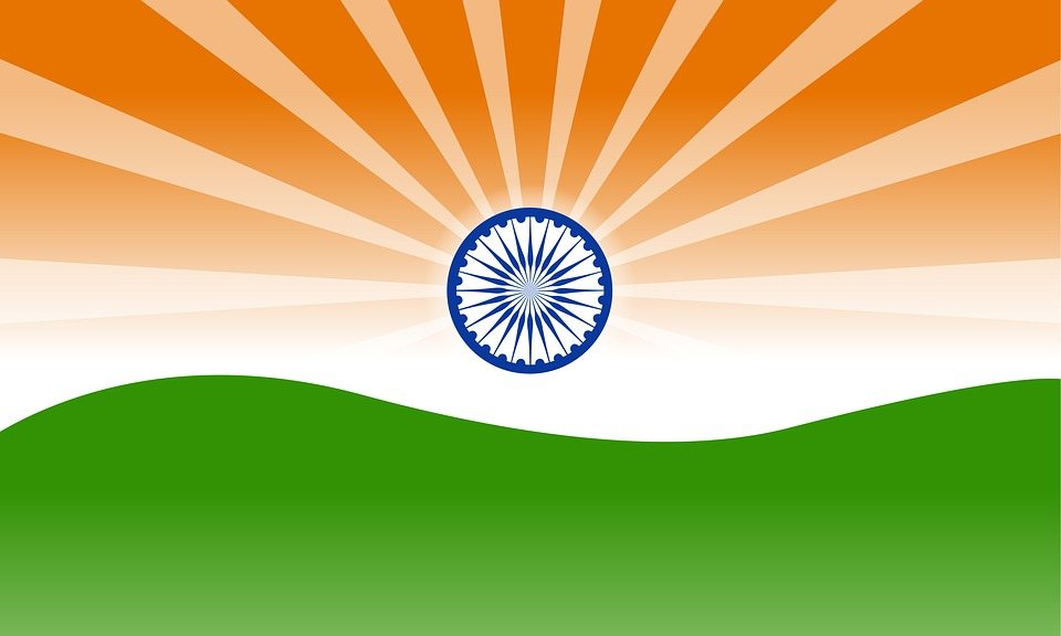 Free illustration Indian Flag Flag India National Free Image