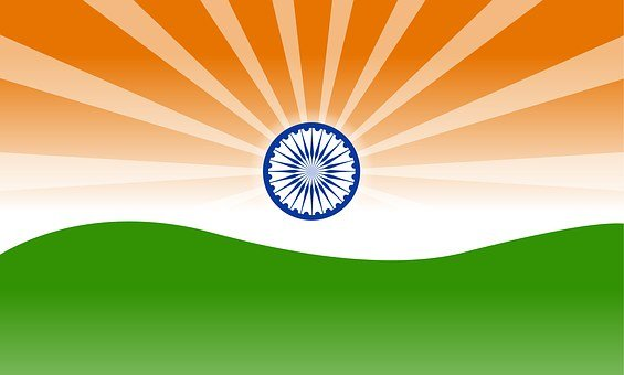 Indian Flag, Flag, India, National