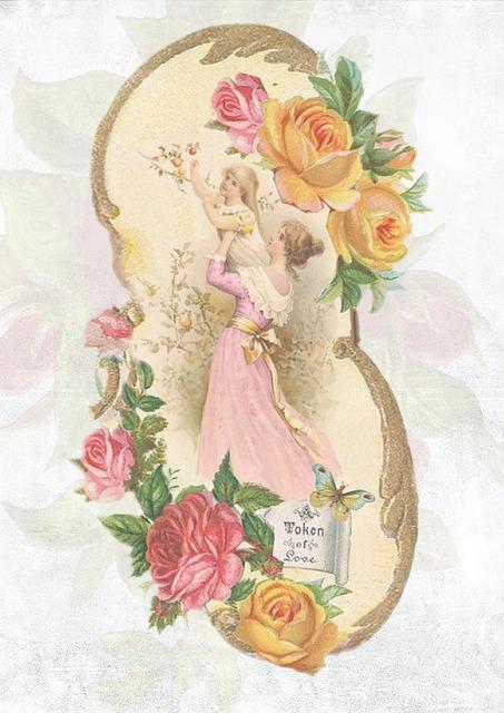 vintage rose design 183 free image on pixabay