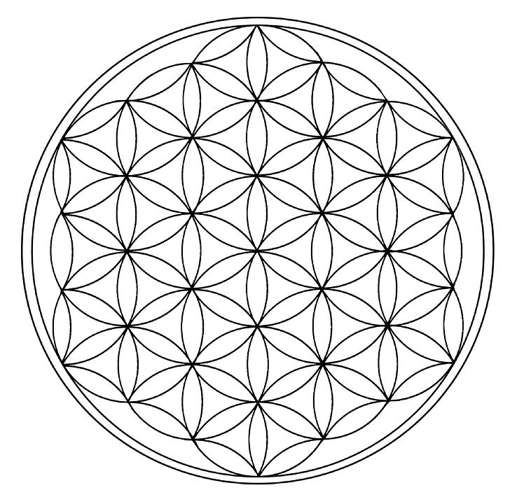Fleur De Vie Géométrie Univers Image Gratuite Sur Pixabay