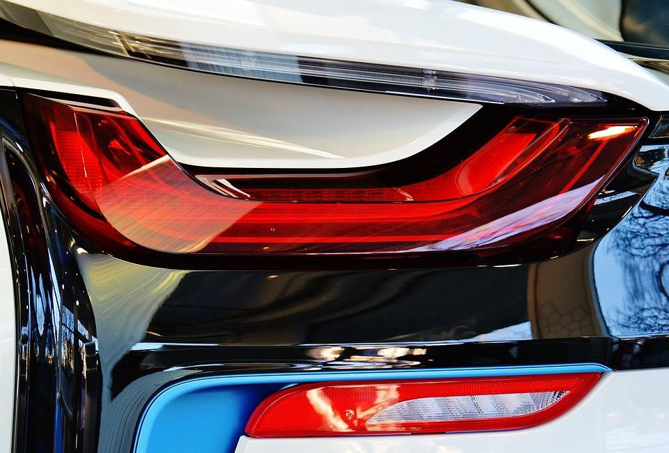 Bmw I8 Sports Car Free Photo On Pixabay