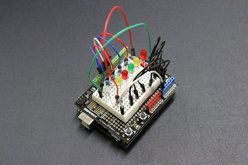 Arduino, circuito, elétron, elétrico