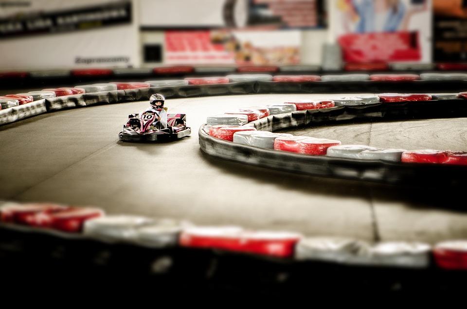 ゴーカート, アクション, モータ, 速度, スポーツ, トラック, レース トラック, レース, ゲーム