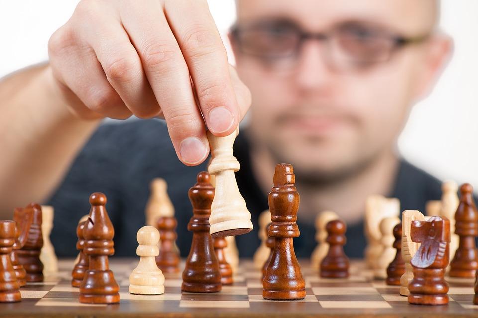 戦略, チェス, ボード ゲーム, 勝利, チャンピオン, 選手権, 受賞者, ゲーム, 図, ポーン