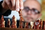 strategii, szachy, gra planszowa