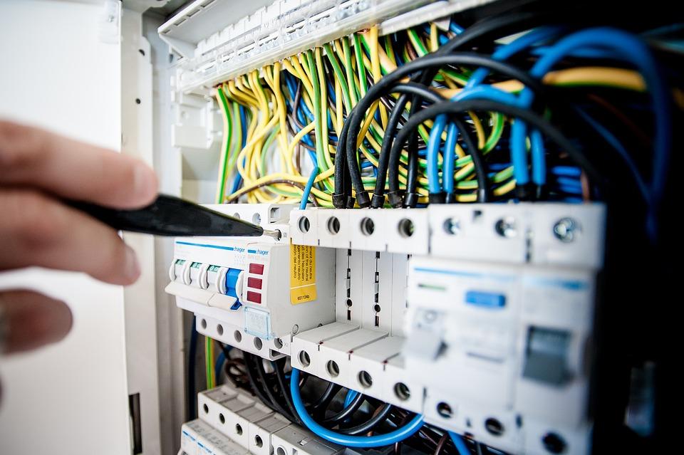 Elektrische, Elektriciteit, Gebouw, Bouwer, Reparatie