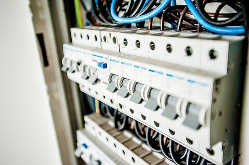 Elétrica, Eletricidade, Edifício, Construtor