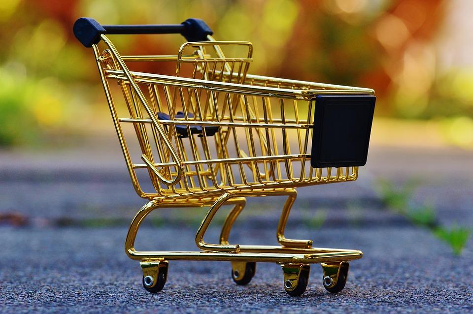 Einkaufswagen, Einkaufen, Shopping