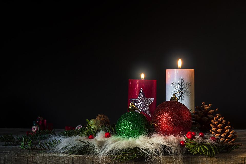 Christmas Candles Flame · Free Photo On Pixabay