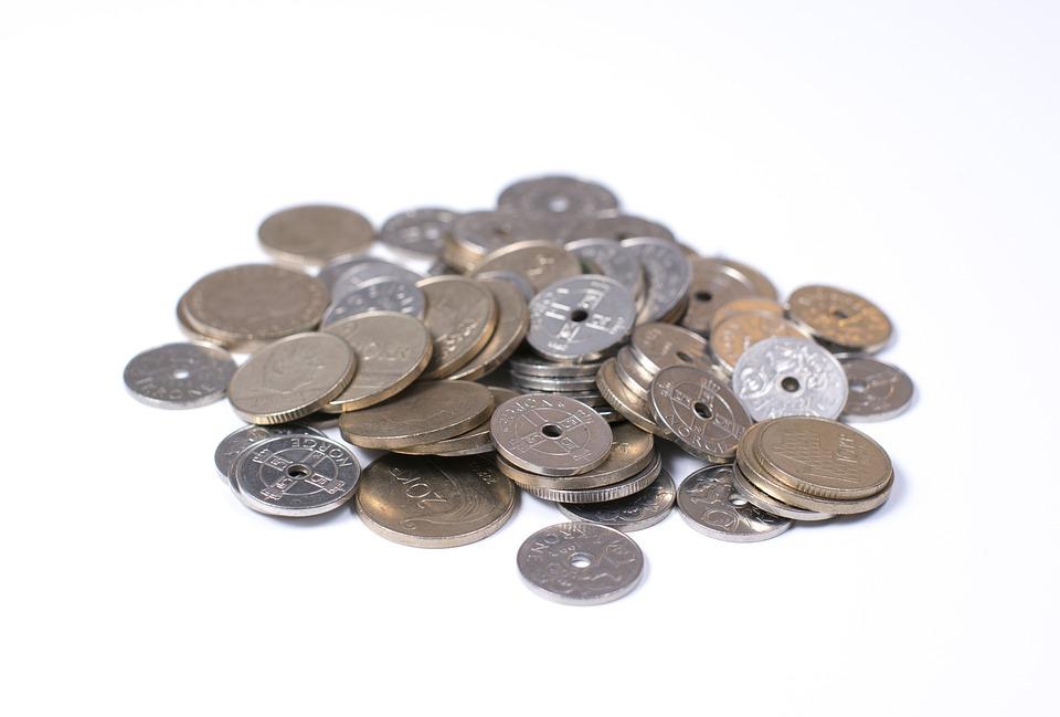 Norwegische Kronen Münzen Geld Kostenloses Foto Auf Pixabay