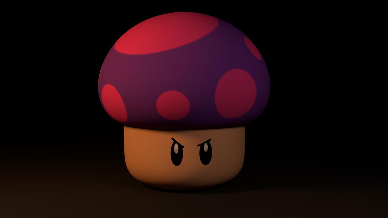 грибы марио картинки собирается