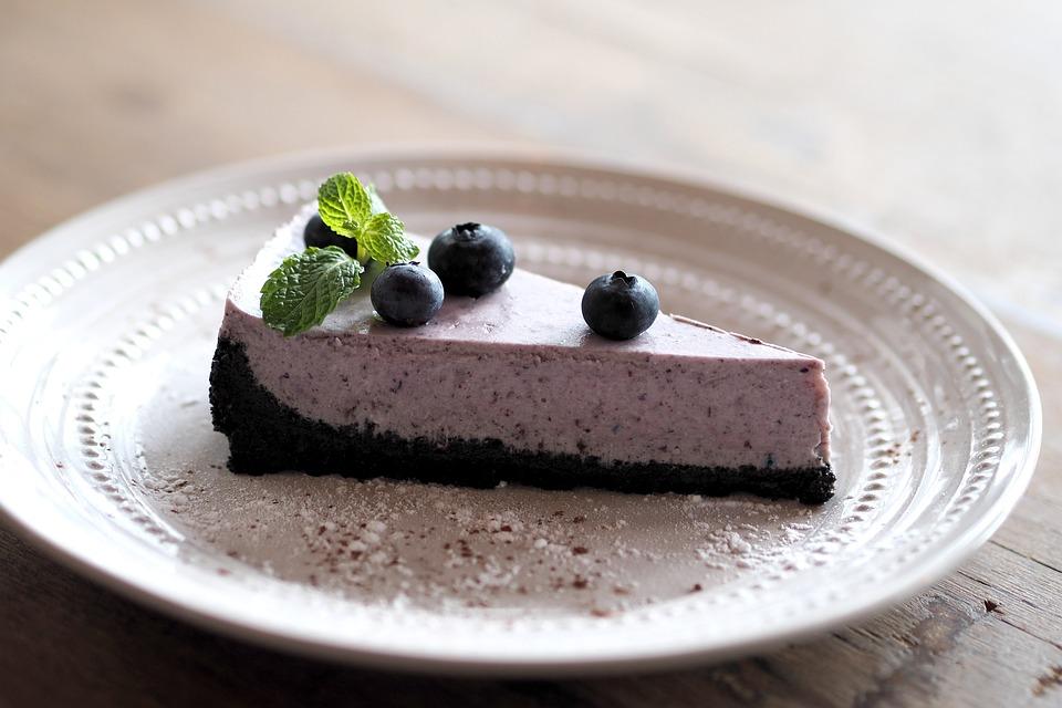 ブルーベリー, タルト, お菓子, デザート, 紫色, 空。, ケーキ, パン屋さん